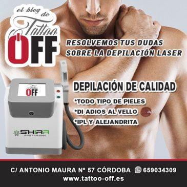Depilación laser en Córdoba | TATTOO OFF